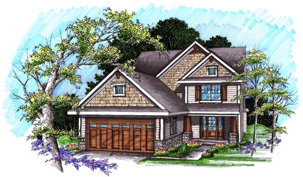Traditional House Plan 72992 Elevation