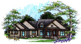 Ranch House Plan 72993 Elevation