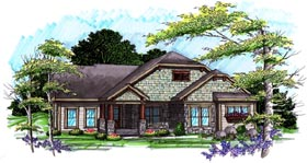 Ranch House Plan 72996 Elevation