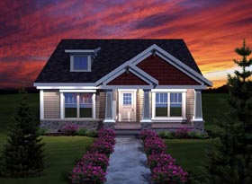 Craftsman Ranch House Plan 72999 Elevation