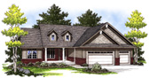 Plan Number 73004 - 1664 Square Feet