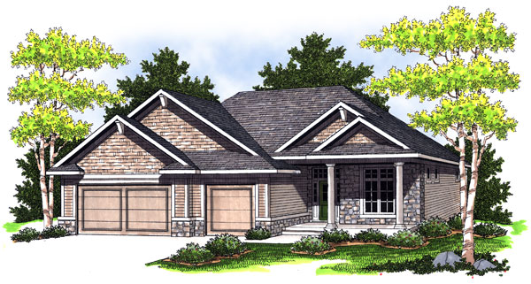 Bungalow House Plan 73005 Elevation