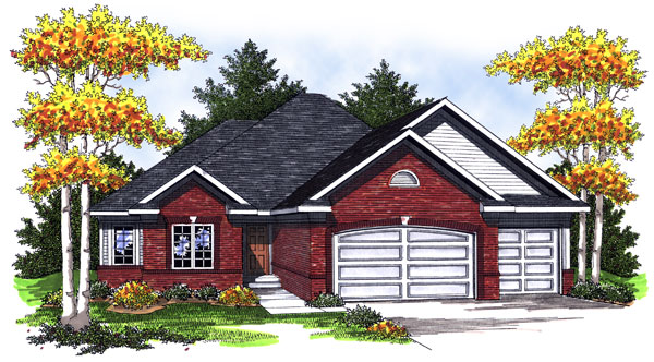 European Traditional House Plan 73010 Elevation