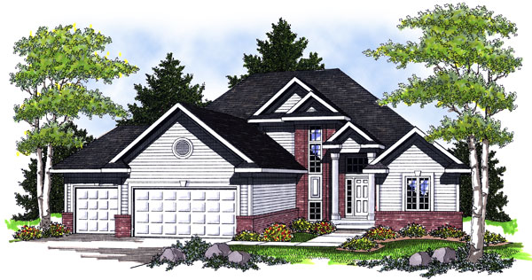 Traditional House Plan 73013 Elevation