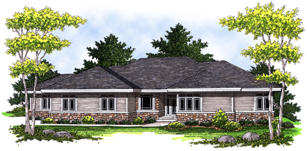 House Plan 73015 Elevation