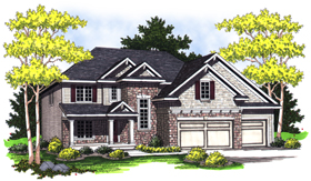 Bungalow Traditional House Plan 73021 Elevation