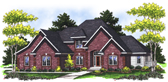 Plan Number 73023 - 2745 Square Feet