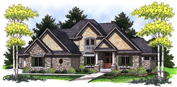 Bungalow Traditional House Plan 73025 Elevation