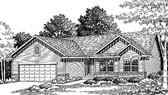 Plan Number 73031 - 1370 Square Feet