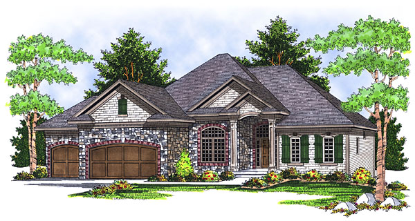 House Plan 73035 Elevation