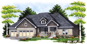 House Plan 73045 Elevation