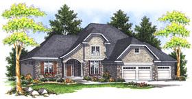 House Plan 73047 Elevation