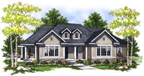 House Plan 73048 Elevation