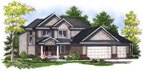 House Plan 73050 Elevation