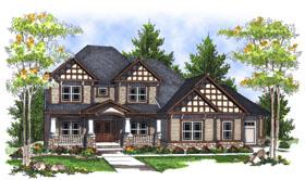 House Plan 73051 Elevation