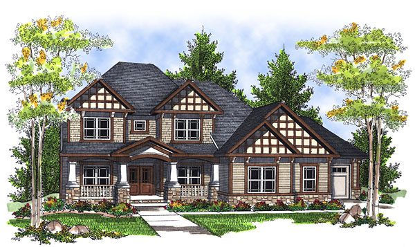 House Plan 73051 Elevation