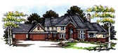 Plan Number 73053 - 5574 Square Feet