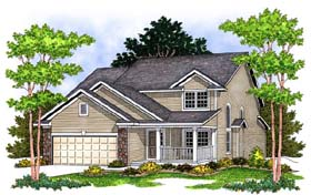 Traditional House Plan 73062 Elevation
