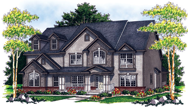 Traditional House Plan 73069 Elevation
