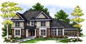 Plan Number 73072 - 3491 Square Feet
