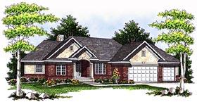 House Plan 73077 Elevation