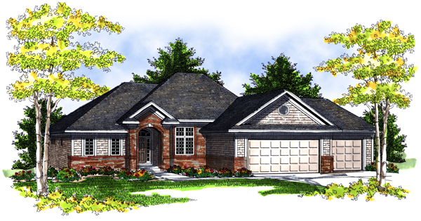 House Plan 73082 Elevation