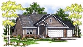 House Plan 73086 Elevation