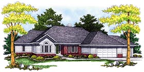 Plan Number 73087 - 3513 Square Feet