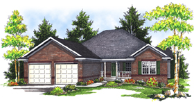 Plan Number 73088 - 2557 Square Feet