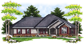 Plan Number 73089 - 2908 Square Feet