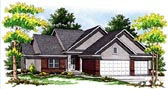 Plan Number 73097 - 2838 Square Feet