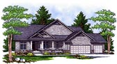 Plan Number 73109 - 3696 Square Feet