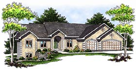 Traditional House Plan 73113 Elevation