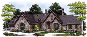 Traditional House Plan 73114 Elevation