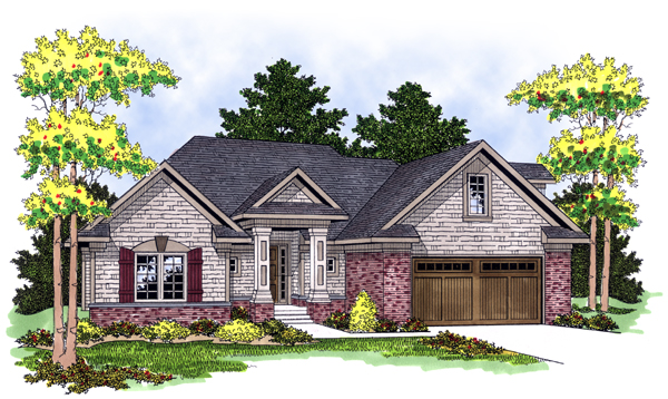 Traditional House Plan 73119 Elevation