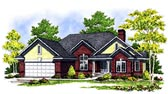 Plan Number 73124 - 3022 Square Feet