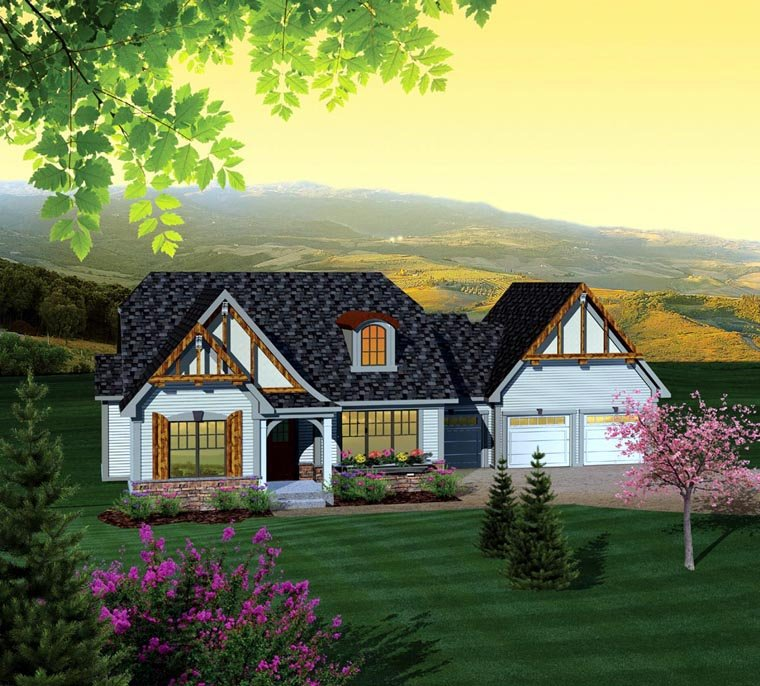 Ranch House Plan 73127 Elevation