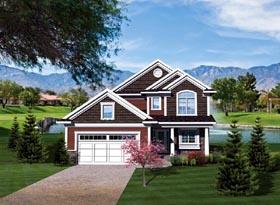 House Plan 73129 Elevation