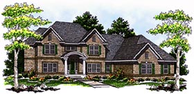 Traditional House Plan 73132 Elevation