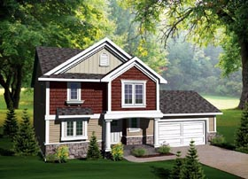 Traditional House Plan 73133 Elevation