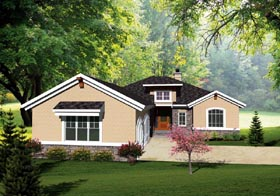 Ranch House Plan 73138 Elevation