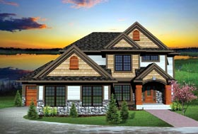 House Plan 73146 | Traditional Style House Plan with 2275 Sq Ft, 4 Bed, 3 Bath, 3 Car Garage Elevation