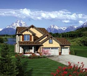 House Plan 73151 Elevation