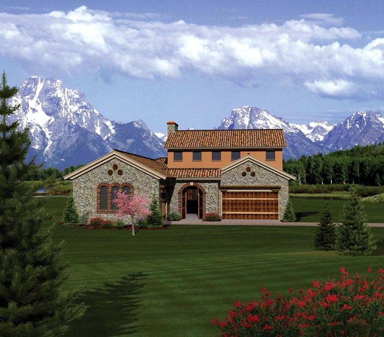 Ranch House Plan 73154 Elevation