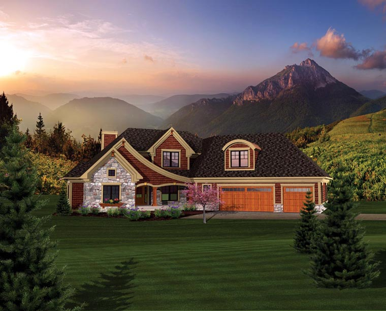House Plan 73161 Elevation