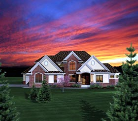 House Plan 73162 Elevation