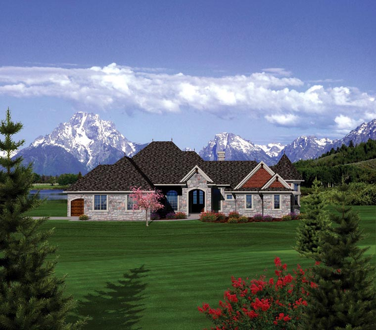 Ranch House Plan 73163 Elevation