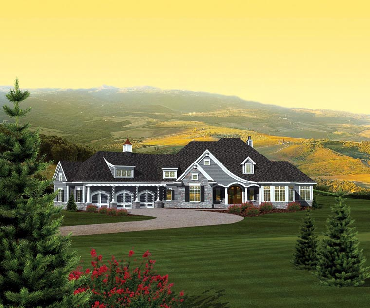 Ranch House Plan 73165 Elevation