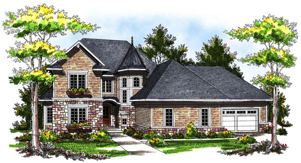 House Plan 73172