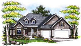 Traditional House Plan 73179 Elevation